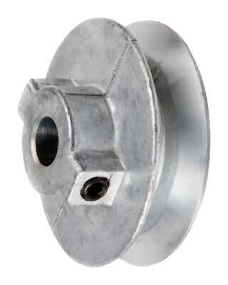 "Chicago Die Cast Single V Grooved Pulley A Belt w 2-1/2"" Dia X 1/2"" Bore Bulk"