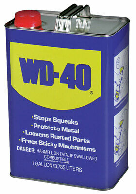 Wd-40 Lubricant Flammable 1 Gl Pack 4