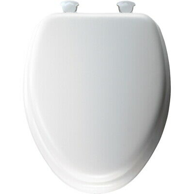 Mayfair Toilet Seat Elongated, Soft Seat White
