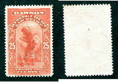 Used Yukon Law Stamp with Manuscript Cancel #YL2 (Lot #12869)