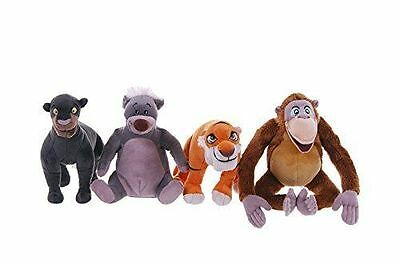 "Disney Jungle Book 8"" Small Plush Soft Toy  Baloo Bagheera King Louie Shere Khan"