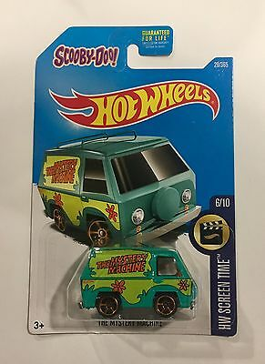 Hot Wheels Scooby-doo The Mystery Machine Shaggy Fred Super