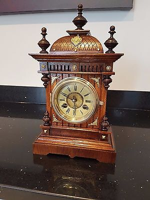 Stunning oak (Gebr Junghans) 21 day bracket clock