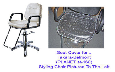 Takara Belmont PLANET st-160  Styling Chair Vinyl Chair SEAT Cover (CLEAR)