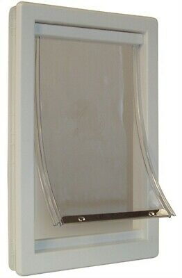 """Ideal Pet Products PPDS 7"""" X 10-5/8"""" Small Thermoplastic Pet Door"""