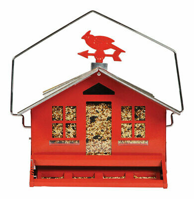 Perky Pet Squirrel Be Gone Country Style Bird Feeder 11.3 In. X 14 In. X 14 In.