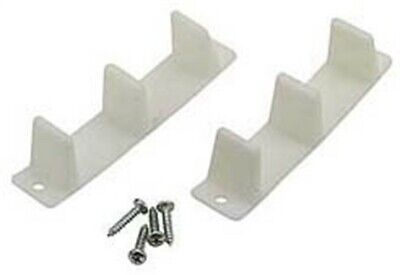 Prime Line N6563 Wardrobe Door Bottom Guide