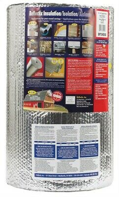 "Reflectix Bubble Pack Insulation 24 "" X 50 ' R3.7 R21 Energy Star Qualified"
