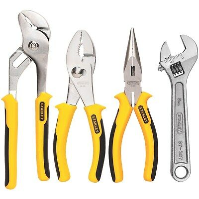 Stanley 84-558 4 Piece Plier Set