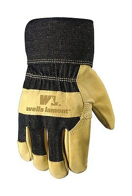 Wells Lamont Leather Palm Gloves Leather Extra Large Black