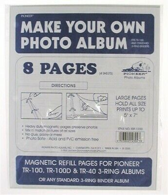 Pioneer Photo Albums SRF1200-REFILL Refill Pages For TR100 Magnetic Album