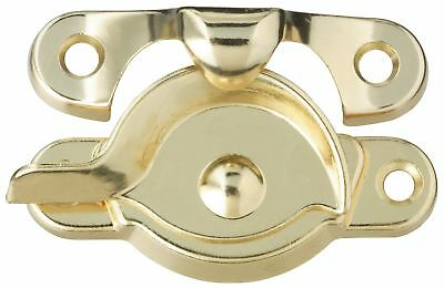 Stanley Hardware 571060 Bright Brass Window Sash Lock
