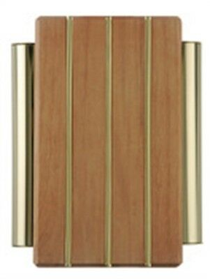 """Carlon Lamson & Sessons DH506 9 1/4"""" Wired Door Chime With Wood Cover"""