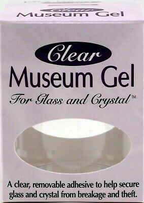 Quake Hold! Free Shipping To Have A Long Historical Standing Crystalline Clear Museum Wax 2 Oz New