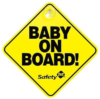 Safety 1st 48918 Baby On Board Sign