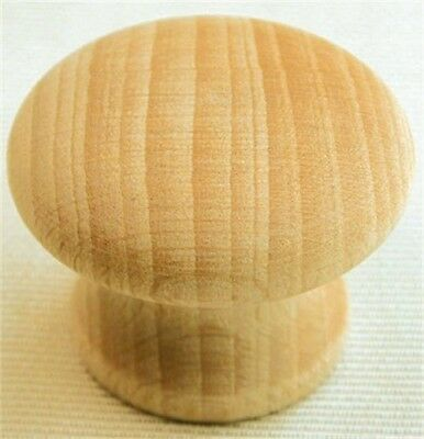 "Ultra Hardware 41445 1-1/4"" Beech Traditions Wood Knob"