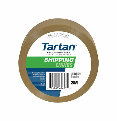 "3M 3710T 1.88"" X 54.6 Yds Tan Scotch® Package Sealing Tape"
