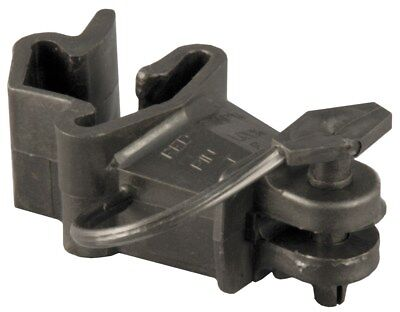 Red Snapr ITPLB-RS 25 Count Black T Post Pin Lock Insulator