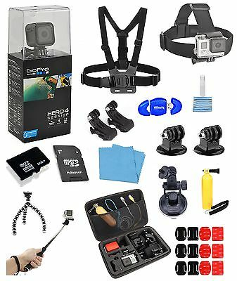 GoPro HERO4 Session + 16 Piece PRO all in one Bundle  *BRAND NEW*
