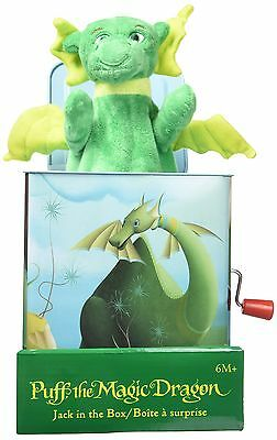 Puff, The Magic Dragon: Jack in The Box, New, Free Shipping