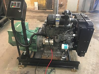 25 Kw Diesel Generator Kubota 0 Hrs 12 Lead Single Or Three Phase 25Kw