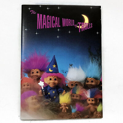 Russ Magical World of Trolls 1991 Catalog Poster Mini Book Pamphlet