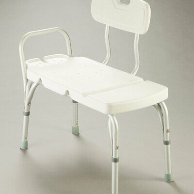 Care Quip - Transfer Bench - with Backrest B5910