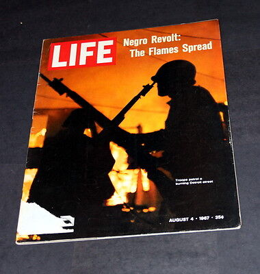 Life Magazine August 4 Th 1967 Negro Revolt