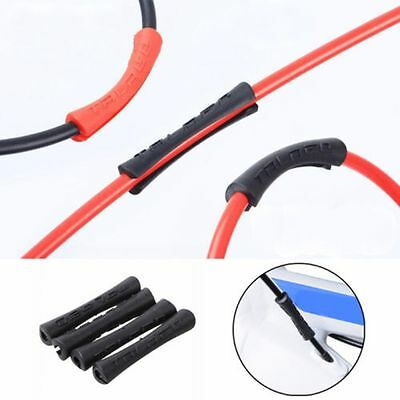 4pcs/lot Bike Shift Brake Rubber Bicycle Cable Protector Line Pipe Sleeve