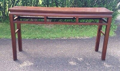 Large Antique Chinese Scroll Table 19th Century