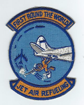 50s-60s 301st AIR REFUELING SQUADRON(FIRST ROUND THE WORLD JET AIR REFUEL) patch