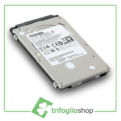 "Hard Disk 320 Gb Toshiba 2,5"" Sata 5400 Rpm Hd Notebook Ultraslim Offerta"