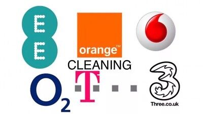 Ee Orange T-Mobile O2 Tesco Vodafone Three Cleaning Service