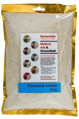 Coconut cream method mix & ground bait for carp and coarse fishing.