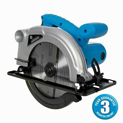 Silverline Heavy Duty 1200W 230V Tct Circular Saw 185Mm 3 Year Warranty 845135