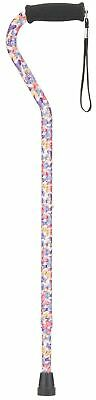 """Nova Medical Products 1070BS 30""""-39"""" Aluminum Butterfly Symphony Offset Cane"""