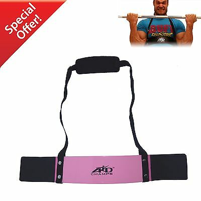ARD CHAMPS™ Heavy Duty Arm Blaster Body Building Bomber Bicep Curl Triceps Pink