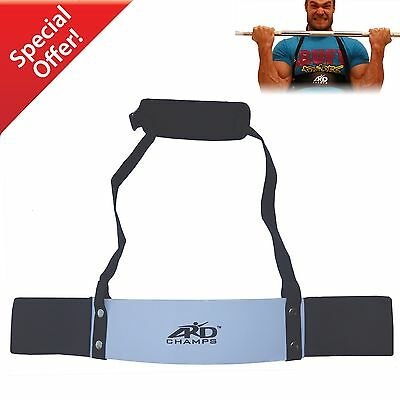 ARD CHAMPS™ Heavy Duty Arm Blaster Body Building Bomber Bicep Curl Triceps White