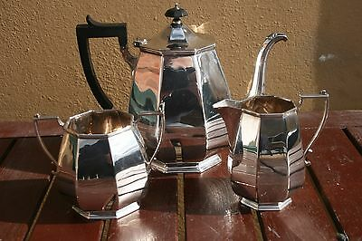 Art Deco James Dixon Silver Plated Tea Set