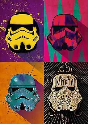 Star Wars Metal Poster Pop Art Troopers Urban Squad 32 x 45 cm Tin Posters amp