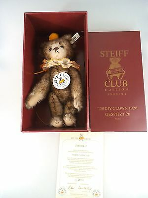 Steiff Teddy Clown 1928 Club Edition - limitierte Auflage in OVP (536)