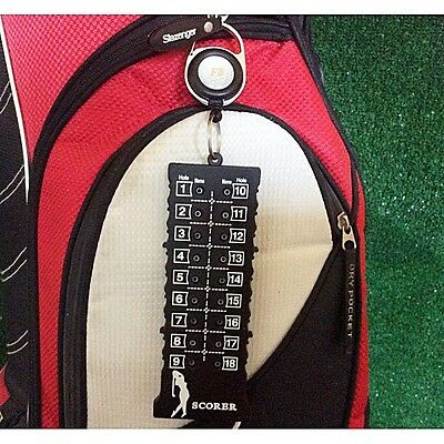 18 Hole Retractable Score Counter. UK Seller