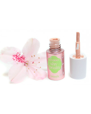 Benefit Shybeam Deluxe 4ml Highlighter Travel Size Pink Shy Beam UK Authentic