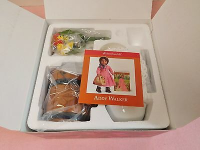 AMERICAN GIRL Addy's Ice Cream Set...Retired....NIB