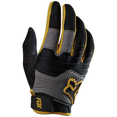 Fox Sidewinder Men's MTB Full-finger Gloves Gold