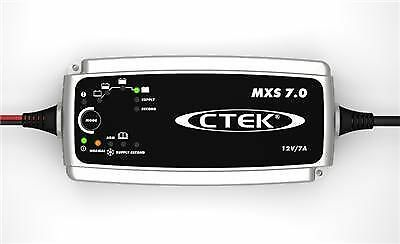 Ctek mxs7.0 Battery Charge Uk Plug Fitted
