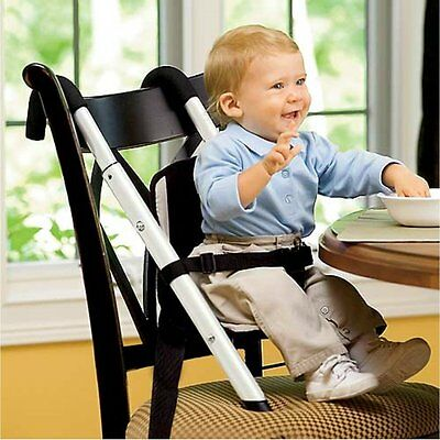 Beanstalk Child Care Booster Seat High Chair, Fully Adjustable and Portable, Per