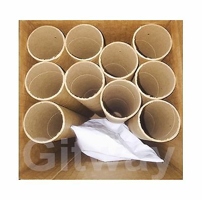 "10 Pack 2"" x 18"" Cardboard Poster Shipping Mailing Packing Postal Tube Box Tubes"