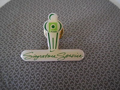 Publix Employee Signature Service Pin - Advertising Grocery Store