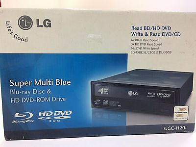 Lettore Super Multi Blue  Dvd-Rom Drive & Blu Ray Disc Interno Nero Lg Gcc-H20L